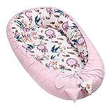 Solvera_Ltd Baby Nest - Reductor para recién Nacidos, Saco de Dormir para bebé, 100% algodón...