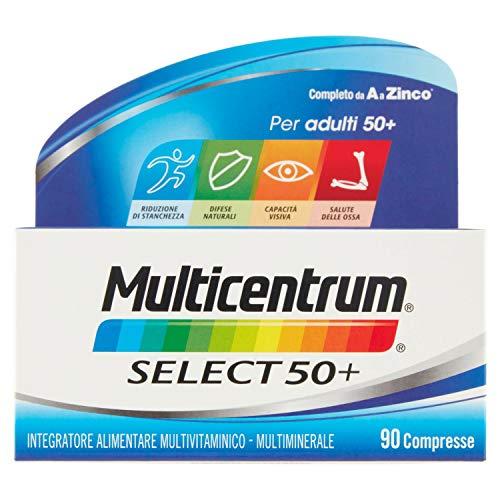 Multicentrum Select 50+ Integratore - 90 Compresse