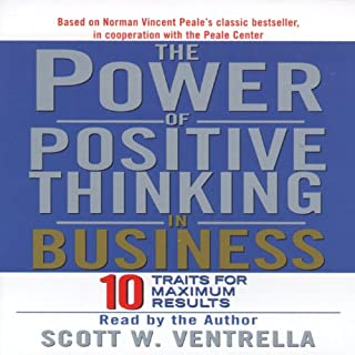 The Power of Positive Thinking in Business audiobook cover art