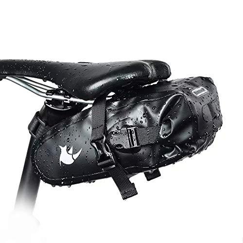 Rhinowalk Fahrrad Satteltasche Wasserdicht 1.5/5/10/13L Fahrradtasche Sitztasche für Outdoor Fahrräder Mountainbikes Rennräder