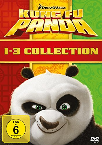 Kung Fu Panda 1-3 Collection [3 DVDs]