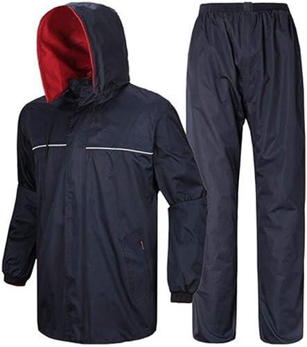XAOPN Imperméable Poncho Anti-tempête Imperméable pour Sports De Plein Air Et Loisirs, équipeHommest De Camping épais Et Imperméable
