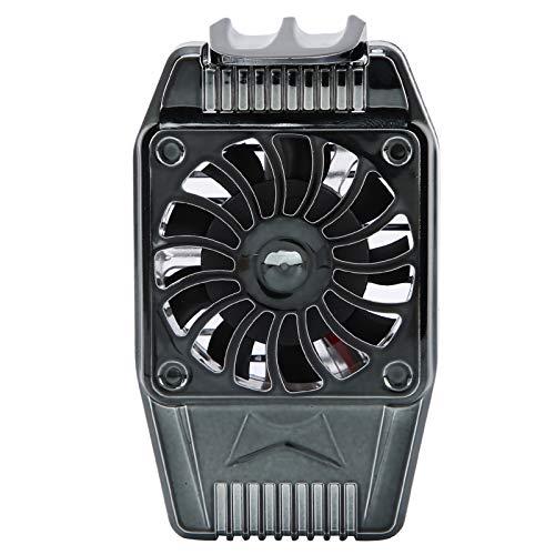 Oreilet 9-Blatt-Lüfter Starke Kühlung Turbine Auspuff-Technologie Handy-Lüfter, Handy-Kühler, Geräuscharm für Handyspiel Mann Frau Handy