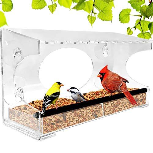 Nature Gear XL Window Bird Feeder