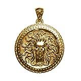 Talisman Amulette gorgonéion Bouclier Retribution ou dorure