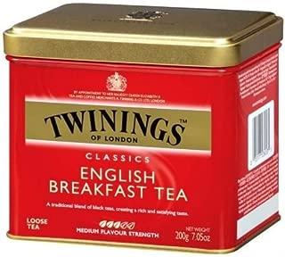 Twinings English Breakfast Tin 200gm