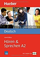 Deutsch uben: Horen & Sprechen A2  -  Buch & CDs (2)