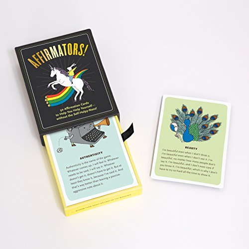 Affirmators! 50 Affirmation Cards to Help You Help Yourself - Without The Self-Helpy-Ness! Photo #12
