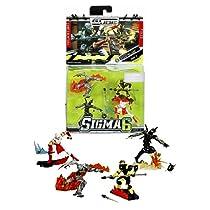 Hasbro Year 2006 G.I. JOE Sigma 6 Mission Manual Series 3 Inch Tall Action Figure - NIGHTBLADE with Ninja B.A.T., Storm