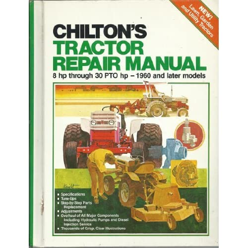 Tractor Repair Manual: Amazon com