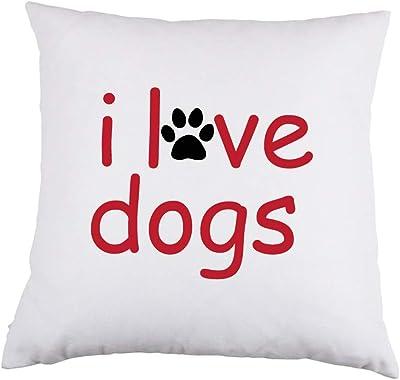 Amazon com: Adopt White Satin Throw Pillow 16 inch Square