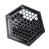 RENFEIYUAN Abalone Marmorstrategie Spiel Schachbrett Spieltisch Tisch Desktop Schachspiel Lernspielzeug für Kinder Brettspiele damespiel