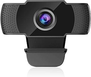 webカメラ マイク内蔵 高画質 200万画素 ウェブカメラ 1080P フレームレート30fps 在宅勤務 ビジネスチャット TV会議にノートパソコン デスクトップ適用