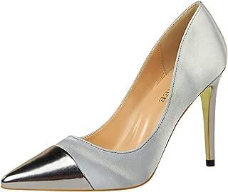 Zanpa Women Fashion Shoes Stiletto Heels Pumps Pointed