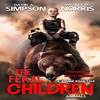 The Feral Children audiobook cover art