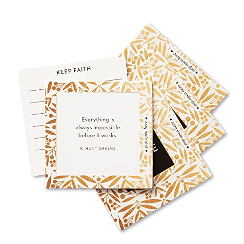 ThoughtFulls Pop-Open Cards by Compendium: Believe30 Pop-Open Cards Each with a Different Inspiring Message Inside 10168