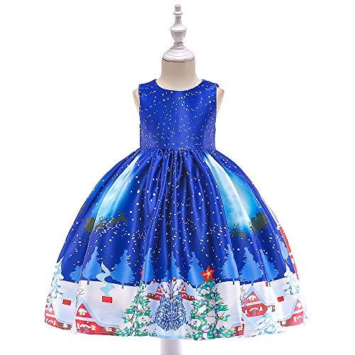 Desconocido Vestidos de Navidad para niños, Disfraces de Navidad, Monos Estampados para...
