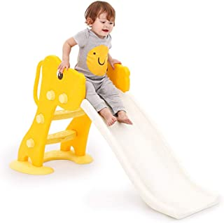Skiout Children's Slide Plastic Play Slide Climbing Ride Outdoor Indoor Play Toy Playground Climber for Kids
