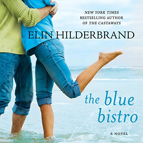 The Blue Bistro audiobook cover art