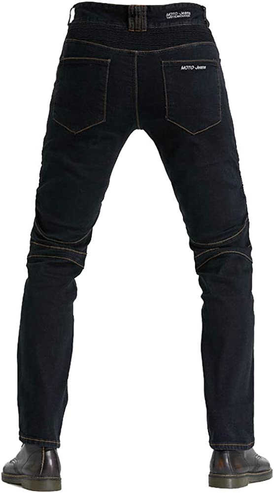 Motorcycle Riding Protective Pants Armor Motocross Racing Denim Jeans Upgrade Knee Hip Protective Pads