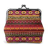 Portamonete messicana in pelle stile folk boho regalo per le donne – donna di fascia alta moda moda portamonete