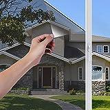 LEMON CLOUD Vinilo Espejo para Ventanas Unidireccional Lámina Electricidad Estatica Protector Solar Privacidad Vinilo Ventana Deorativos Adhesiva Anti 85% Calor y 99% UV para Hogar Oficina