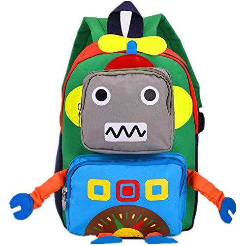 Cartoon Backpack Toddlers Nursery School Bag, for Girls Boys 3-8 Year Monster, 3D Cute Animal Cartoon Preschool Rucksack