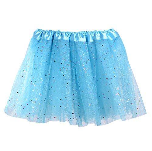 ISSHE Faldas de Tul Falda Tutu Niña Falda Tul Capas Niñas Disfraces...