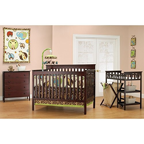 Baby Mod - Bella 4-in-1 Fixed Side Crib, Changing Table and Clothing...