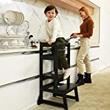 SDADI Adjustable Height Kitchen Step Stool,Kids Learning Stool,Mothers' Helper LT05B