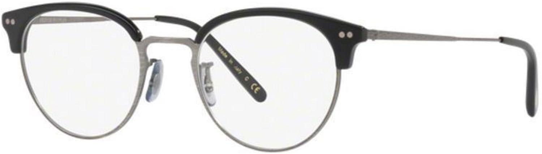 New Oliver Peoples OV 5358 1005 Black Antique Pewter Eye wear
