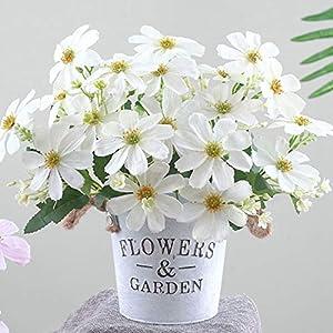 Silk Flower Arrangements Artificial and Dried Flower Home Decoration Artificial Flower Cherry Blossom Cosmos Silk Flower Bouquet