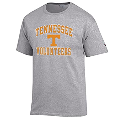 Champion NCAA Men's Shirt Short Sleeve Officially Licensed Team Color Tee, Tennessee Volunteers, Large