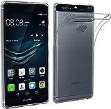 PHONE CONVERSE Funda TPU Huawei P9 Ultra Slim Carcasa Transparente Silicona Resistente Anti-Arañazos para Huawei P9