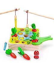 Dream Fun Juguetes Montessori para Niño Niña 2-5 Años Juegos Educativos para Niños Juguete de Madera - Regalos de Cumpleaños