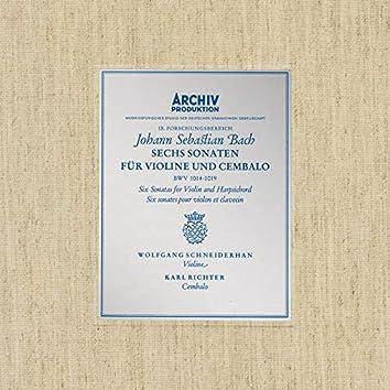 Bach, J.S.: Sonatas for Violin and Harpsichord BWV 1014-1019