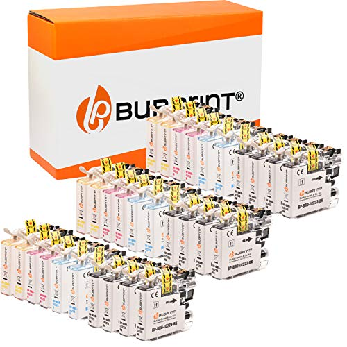 30 Bubprint Druckerpatronen kompatibel für Brother LC-223 LC-225 LC-227 XL für DCP-J4120DW DCP-J562DW MFC-J4420DW MFC-J4620DW MFC-J4625DW MFC-J480DW MFC-J5320DW MFC-J5620DW MFC-J880DW Multipack