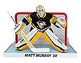 NHL Matt Murray Spieler-Nachbildung mit Netz, 15,2 cm, Pittsburgh Penguins -