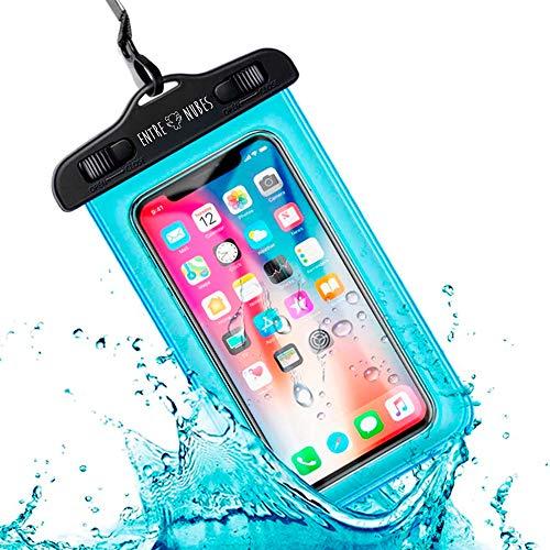 Custodia impermeabile per cellulare universale IPX8 con borsa subacquea impermeabile per la spiaggia | iPhone XR XS X SE 11 9 8 7 6S Plus Samsung S20 Plus A71 Xiaomi Mi 10 Huawei P30 BQ Aquaris