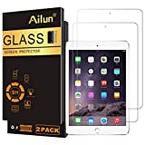 Ailun Screen Protector Compatible for iPad Mini 1 2 3 Tempered Glass 9H Hardness 2Pack Compatible with Apple iPad Mini 1 2 3 Ultra Clear 2.5D Edge Anti Scratch Case Friendly