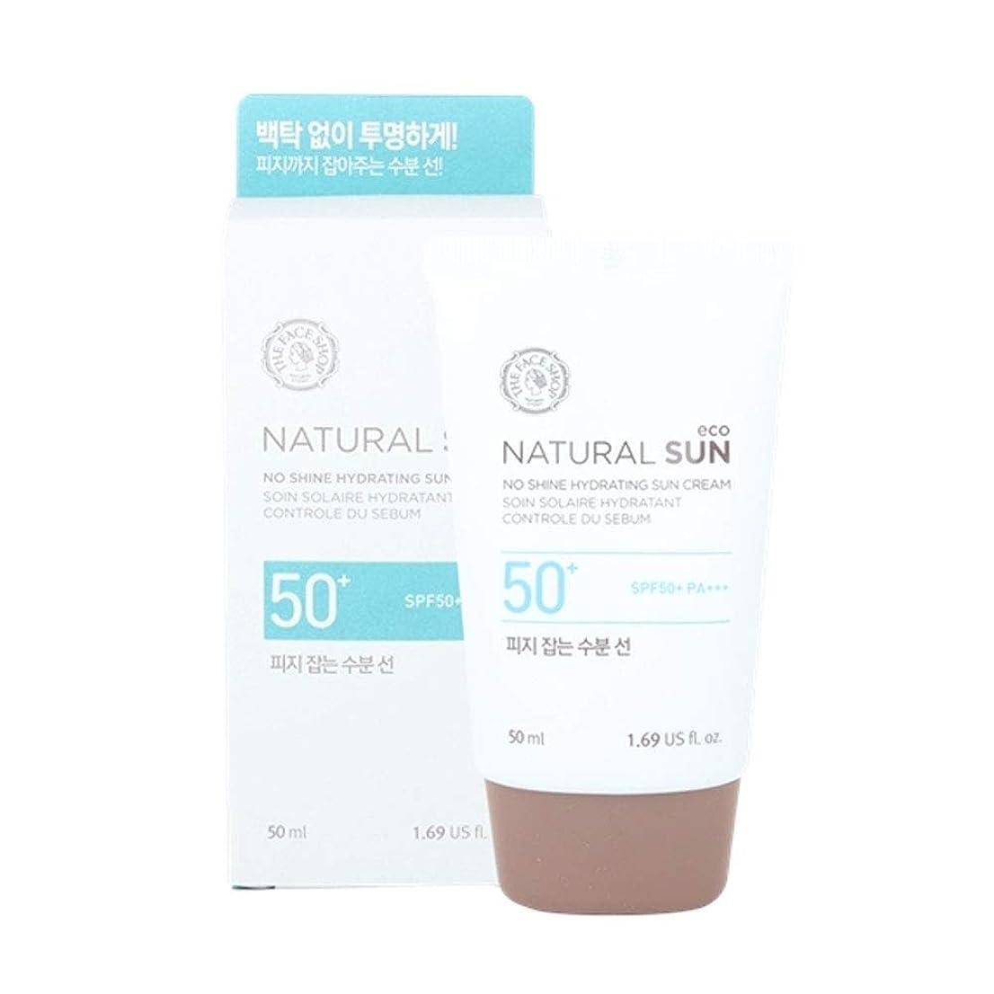 額十分な整然としたザ?フェイスショップネチュロルソンエコフィジーサン?クリームSPF50+PA+++50ml x 2本セット韓国コスメ、The Face Shop Natural Sun Eco No Shine Hydrating Sun Cream SPF50+ PA+++ 50ml x 2ea Set Korean Cosmetics [並行輸入品]