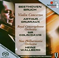 Beethoven, Bruch Violin Concertos (Hybr) by BEETHOVEN / BRUCH (2006-08-29)