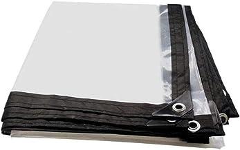 QI-CHE-YI Tarps transparante rand geperforeerd dekzeil plastic doek venster winddicht bloem dekzeil kas film 5 Mils 120G/...