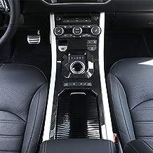 for Land Rover Range Rover Evoque 2012-2019 ABS Plastic Center Console Gear Panel Decorative Cover Trim (Carbon Fiber)
