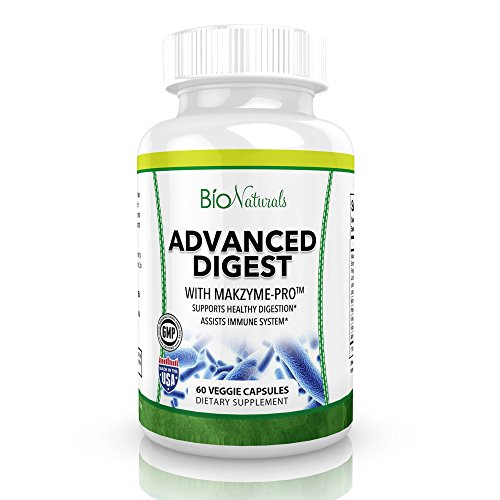 Advanced Digestive Enzymes - All Natural Plant Based Supplement...