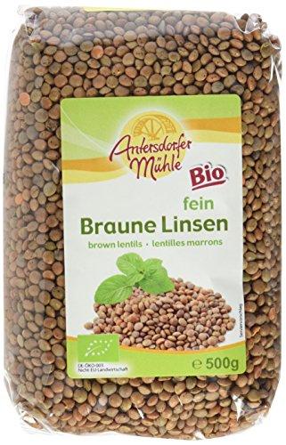 Antersdorfer Mühle Braune Linsen (1 x 500 g)