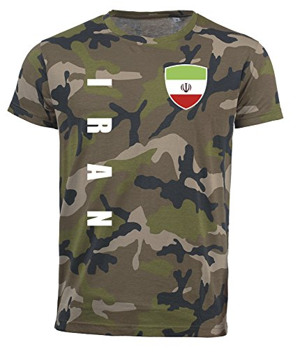 aprom Iran T-Shirt Camouflage Trikot Look Army Sp/A (M)