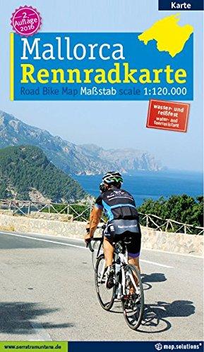 Rennradkarte Mallorca: Alle Rennradstrecken auf Mallorca: Alle asphaltierten Rennradstrecken