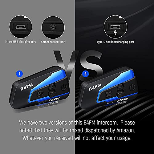 LEXIN B4FM Dual Pack - 6