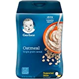 Best First Foods for Baby - Gerber Oatmeal Baby Cereal Single-Grain Review